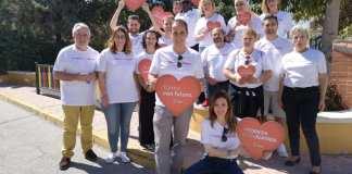 El equipo socialista, liderado por Juanma Cortés.