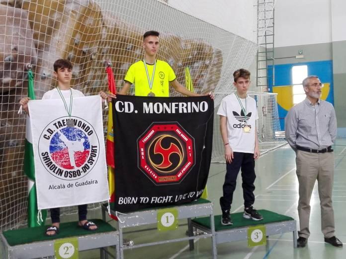 Medalla de oro para el taekwondista veleño Erik Valverde Aguilar en el Trofeo Corpus Diputación de Granada