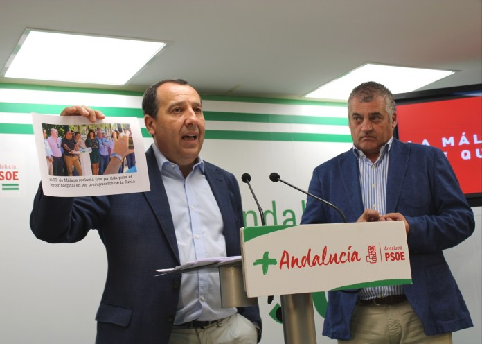 """El PSOE asegura que los Presupuestos del Gobierno andaluz de PP y Ciudadanos confirman """"un año perdido para Málaga"""""""