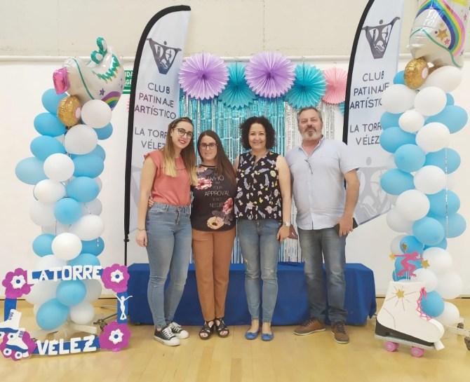 Éxito del I Trofeo de Patinaje Artístico 'La Torre-Vélez'