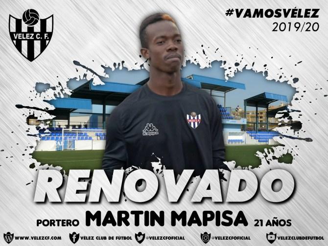 El Vélez C.F. anuncia las renovaciones de Ignacio Anaya y Martín Bapisa