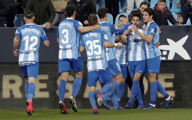 El Málaga CF  ya está en play-off