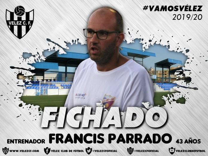 Muñoz Parrado, entrenador del Vélez C.F.