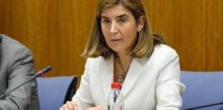 Rocío Blanco, en un momento de la comisión.
