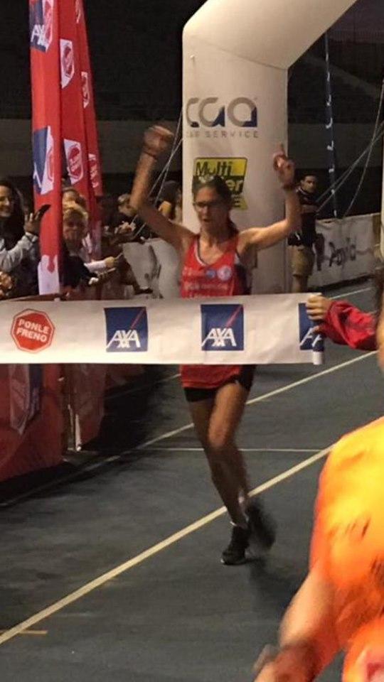 Teresa Velasco, del Club Atletismo Vélez, gana la carrera 'Ponle Freno' de Málaga