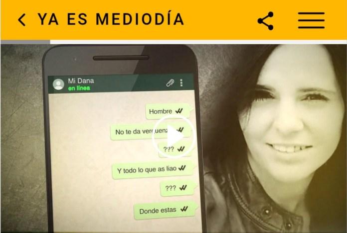 El móvil de Dana, desaparecida en Arenas, podría haberse encendido