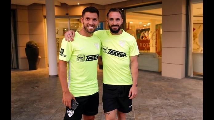 Arranca el 'stage' de pretemporada del Málaga CF en Estepona