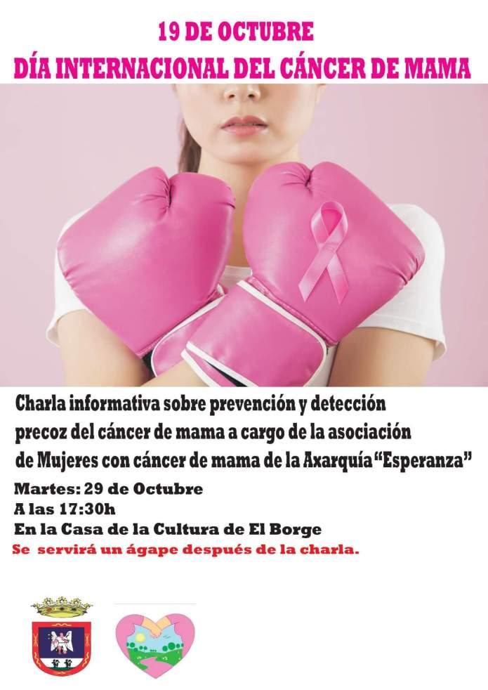 El Borge se suma a la lucha contra el cáncer de mama