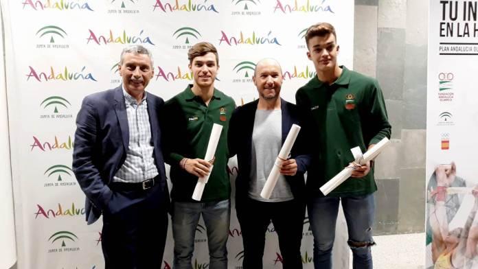 Club Nerja de Atletismo acude a la presentación del Plan Andalucía Olímpica 2019