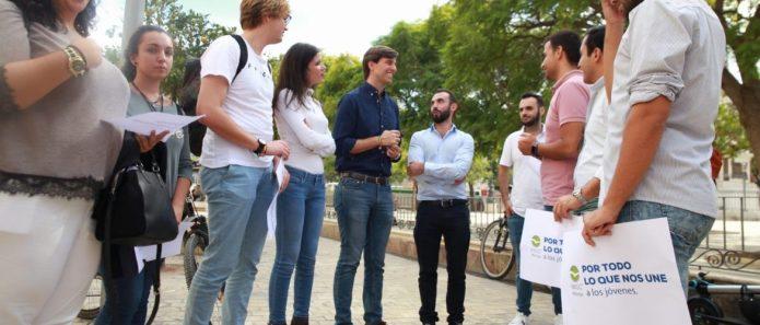 """Montesinos: """"El PP es el partido de los jóvenes, del empleo y las oportunidades"""""""
