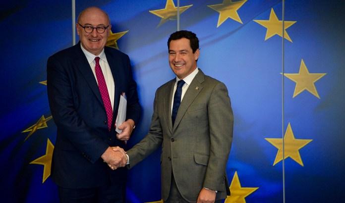 Moreno reivindica en Bruselas una PAC simplificada que se ajuste a las pequeñas explotaciones agrarias