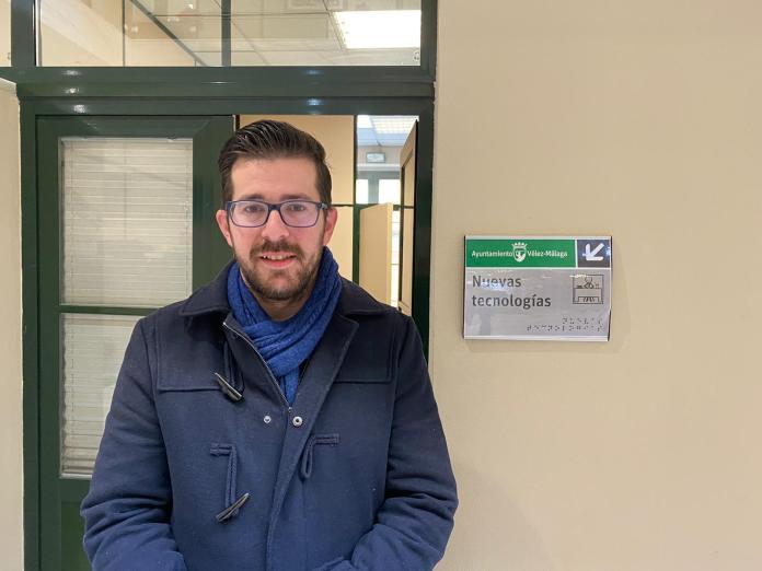 El concejal de Nuevas Tecnologías, Juan Carlos Muñoz.