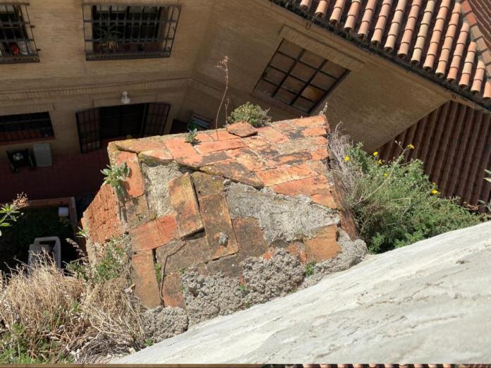 José Pino lleva a pleno el arreglo de parte de la muralla, ya que pone en peligro la integridad física de los vecinos