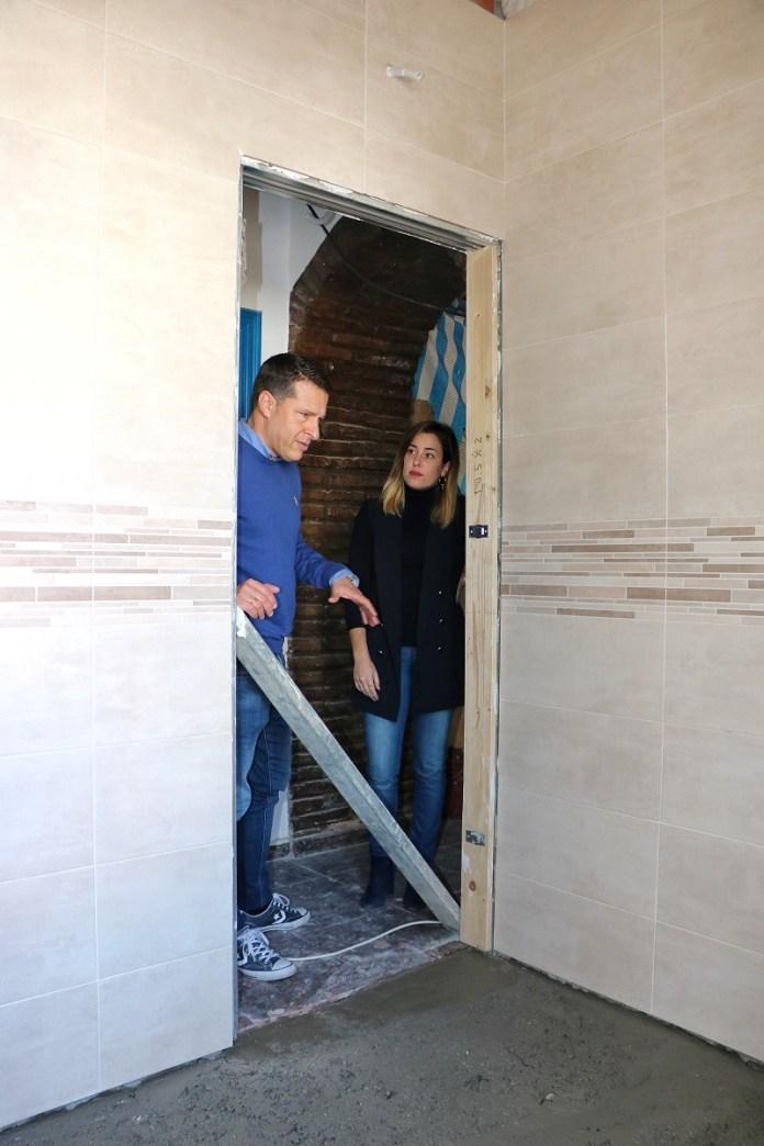 Grandes avances en las obras de mejora del Centro de Mayores de El Morche