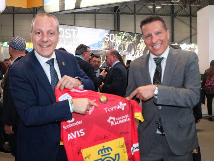 España promociona Torrox en el europeo de balonmano