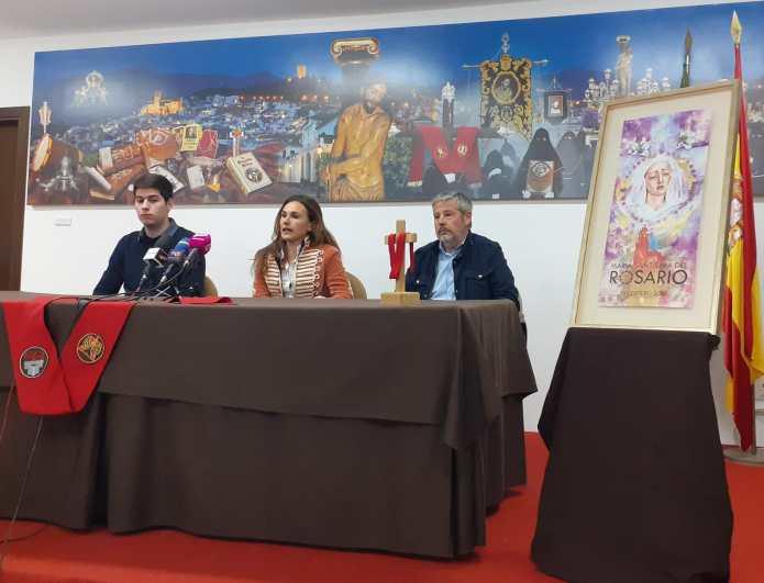 La Cofradía de los Estudiantes de Vélez-Málaga bendecirá el domingo a la Virgen del Rosario