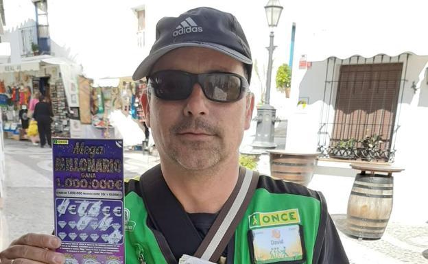 El sorteo del Rasca Megamillonario de la ONCE reparte un millón de euros en Frigiliana
