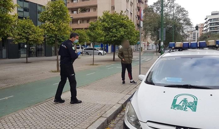 La Policía Adscrita suma más de 500 propuestas de sanción y 9 detenidos por incumplir el confinamiento