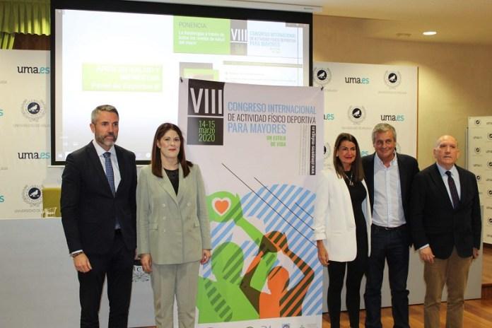 La Diputación de Málaga impulsa el VIII Congreso Internacional de Actividad Físico Deportiva para Mayores
