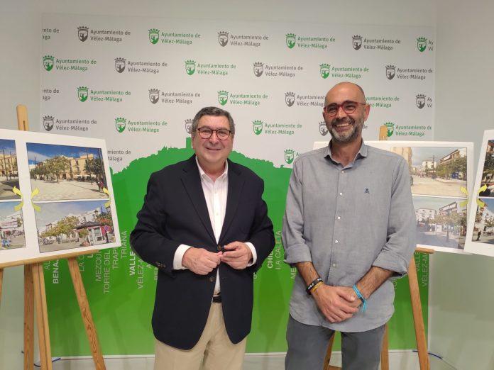 Finalizan las obras de peatonalización de Las Carmelitas en Vélez-Málaga