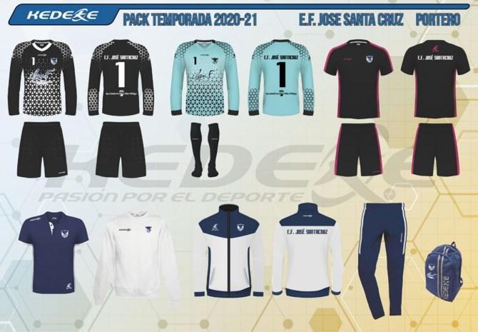 La Escuela de Fútbol José Santacruz de Vélez-Málaga lucirá nuevos diseños la próxima temporada