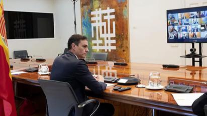 Pedro Sánchez pide a las comunidades un listado de infraestructuras donde aislar a los asintomáticos con coronavirus