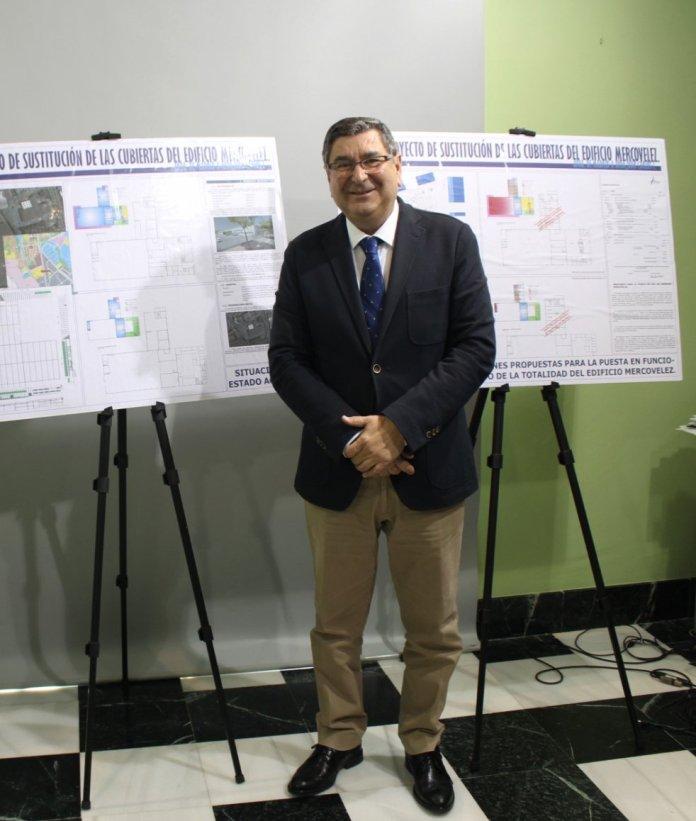 Moreno Ferrer reanuda las obras de Mercovélez con el fin de dar continuidad a la actividad municipal