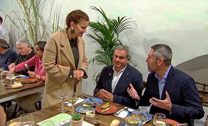 'Sabor a Málaga' protagoniza este lunes en Frigiliana el programa Masterchef de La 1 de Televisión Española