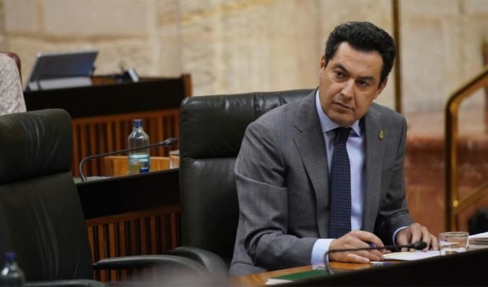 Moreno propone al Gobierno central que 30 de los 33 distritos sanitarios andaluces pasen a la fase 1 de la desescalada