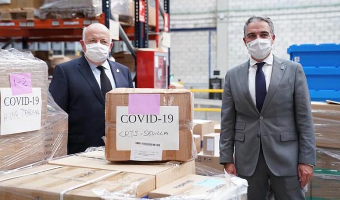 La Junta de Andalucía invierte 120 millones de euros en equipos de protección