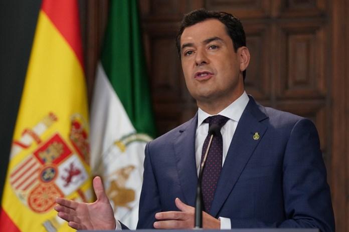Moreno pide a Sánchez que Málaga y Granada pasen a la fase 2 si cumplen con los requisitos