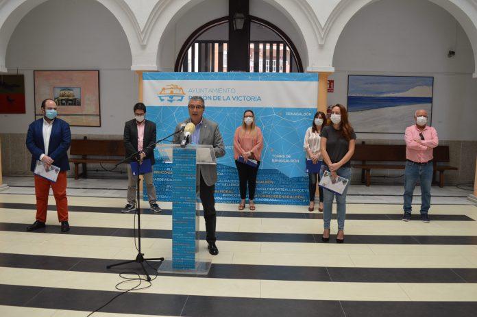 Rincón de la Victoria lanza un plan de consenso para reactivar el municipio con actuaciones e inversiones de casi 7 millones de euros para hacer frente a la crisis sanitaria por el coronavirus