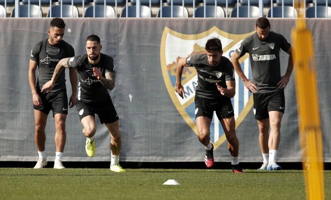 El Málaga CF se prepara para iniciar los entrenamientos en grupo
