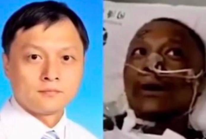 Muere el médico chino que se volvió negro por un tratamiento contra el coronavirus