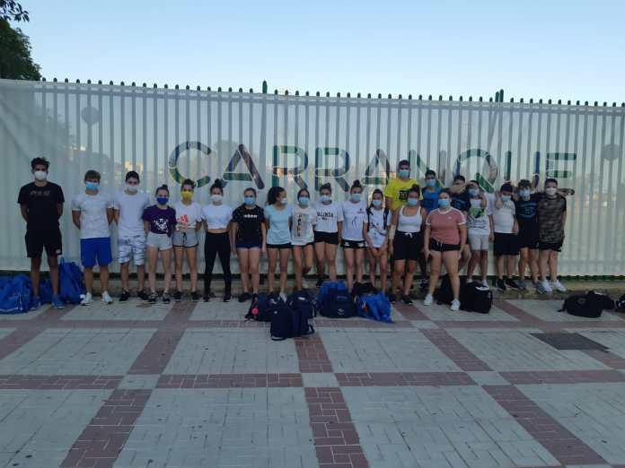 El Club Waterpolo Málaga retoma los entrenamientos  colectivos presenciales