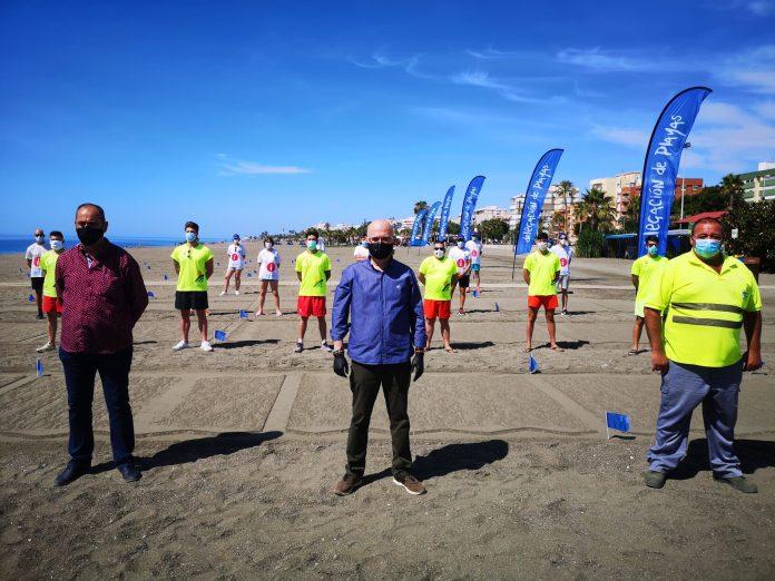 Vélez-Málaga refuerza su plan de playas con importantes medidas de prevención y seguridad por el Covid-19