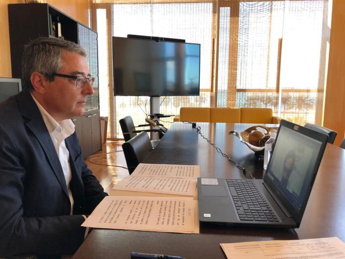 Salado destaca la posición privilegiada que ocupa la provincia de Málaga para captar inversiones inmobiliarias nacionales e internacionales