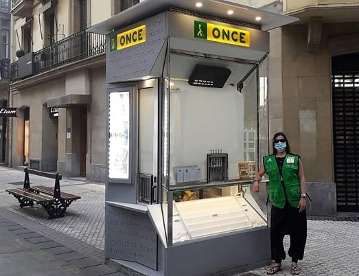 La ONCE recupera mañana el sorteo del cupón y sus 19.000 vendedores y vendedoras a pie de calle