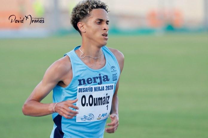 El fondista nerjeño Ouassim Oumaiz récord de España de 5 kilómetros