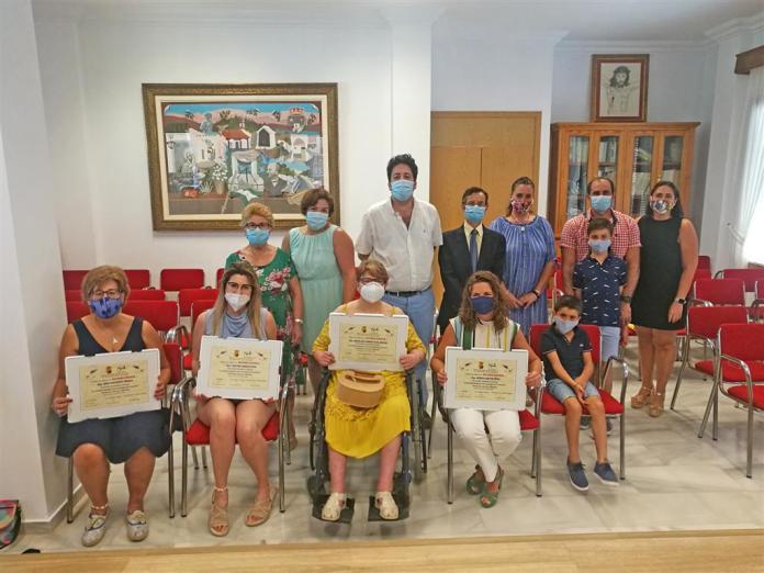 El Ayuntamiento de Benamocarra y 'Somos Axarquía' entregan los premios 'La sociedad malagueña ante la pandemia del coronavirus'