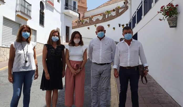 La Junta respalda el proyecto del centro de Salud de Cómpeta junto al aparcamiento