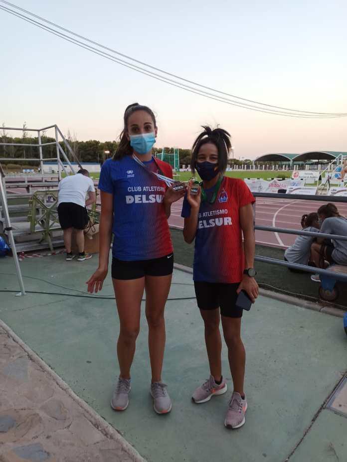 Hasna Aich y Lucía Torres, primero y tercer puestos del Campeonato de Andalucía Absoluto