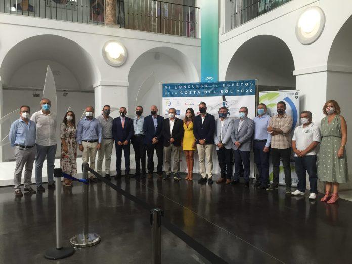 El presidente de la Mancomunidad de Municipios de la Axarquía, José Juan Jiménez, apoya el 'VI Concurso de Espetos de la Costa del Sol Gourmet Edition 2020'
