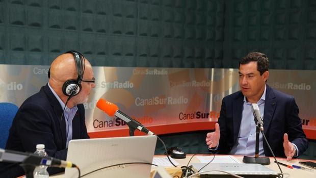 Juanma Moreno descarta pedir el estado de alarma en Andalucía
