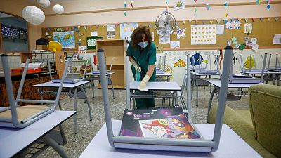 Educación apuesta por mascarilla desde 6 años y toma temperatura a los niños contra el coronavirus