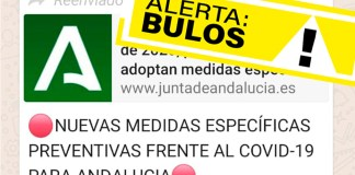 Bulos coronavirus en Andalucía
