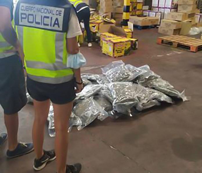 Desarticulado un grupo que utilizaba una infraestructura empresarial de comida india para traficar con armas y distribuir marihuana en Europa