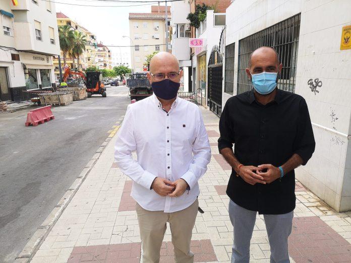 Vélez-Málaga inicia la renovación del abastecimiento de agua potable en las calles Hermanos Pinzón y Juan Sebastián Elcano