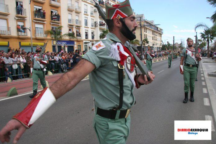 La Legión Española, tan vinculada a la Cofradía de las Angustias Coronada de Vélez-Málaga, cumple 100 años.