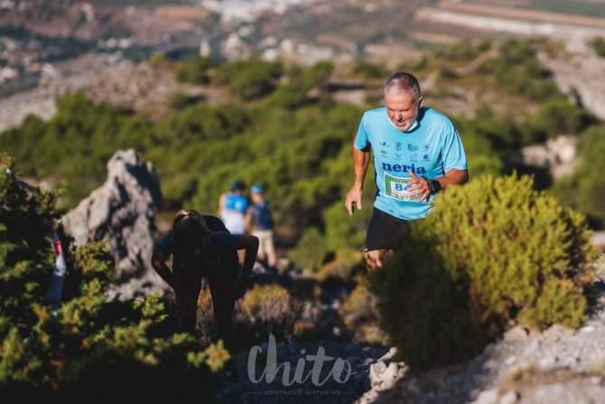 Los nerjeños Vicente Torrecilla y José Mª Martín cosechan importantes resultados en el Campeonato de Andalucía de Kilometro Vertical